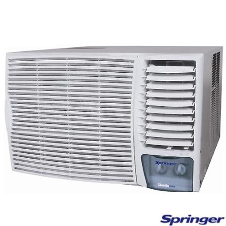 Condicionador de Ar 21.000Btus Mecânico Quente/Frio Silentia Springer - ZQA215BB, LA, 21.000 BTUs, Split, 19.000 a 23.500 BTUs