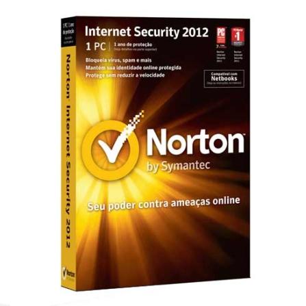 Norton Antivirus 2012 para 1 Usuário - Symantec - 21197151