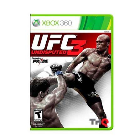 Jogo UFC 3 Undisputed para XBOX 360