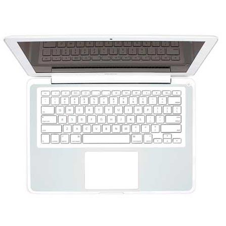 Capa de luxo em couro Cinza para MacBook 13