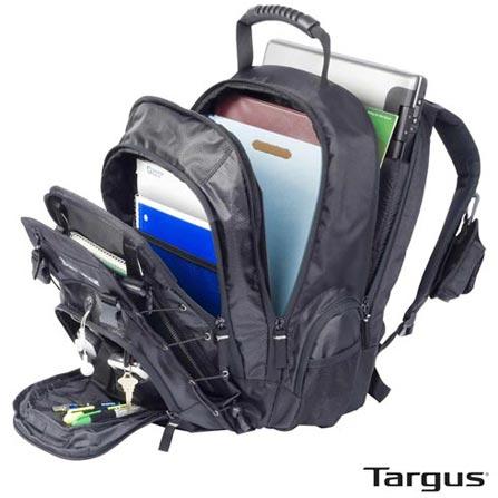 Mochila Matrix Notebook Backpack até 15,4'' Preta - Targus