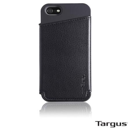 Case para iPhone 5 Targus Wallet THD022US50 Preto
