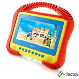 """DVD Portátil Tectoy Kids com Tela de 7"""" e Acabamento Emborrachado - K-3001"""