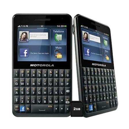 Celular Tim Motorola Motokey EX225 com Câmera 3MP, Tela Touch de 2.4