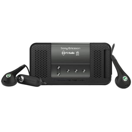 Celular GSM R306 Preto com Câmera 1.3 MP / MP3 Player / Rádio FM / Bluetooth - Sony Ericsson + Chip TIM Pré-Pago (DDD 11)