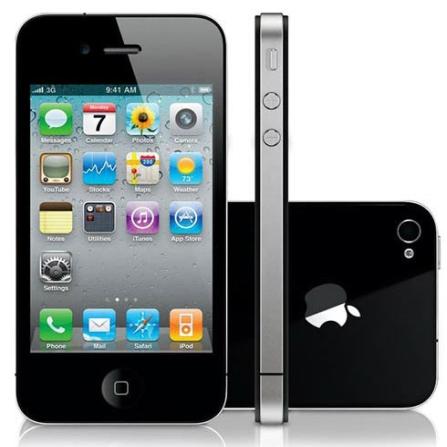 iPhone 4 Preto Desbloqueado TIM 8GB