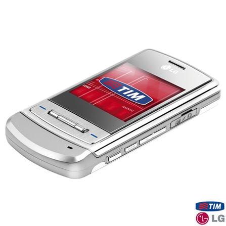 Celular GSM TIM (DDD 11) ME970 com Câmera de 2.0 MP / MP3 Player / Flash / Auto - LG + Chip TIM Pré-Pago