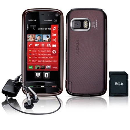 Celular 5800 Comes With Music com GPS Nokia Tim