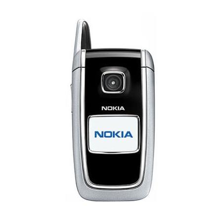 Celular GSM  6101 Preto com Câmara VGA / Rádio FM - Nokia + Chip Tim Pré-Pago (DDD 11)