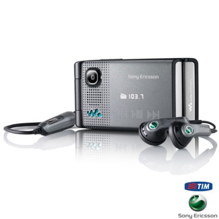Celular GSM W380 /Bluetooth+Chip TIM Sony Ericsson