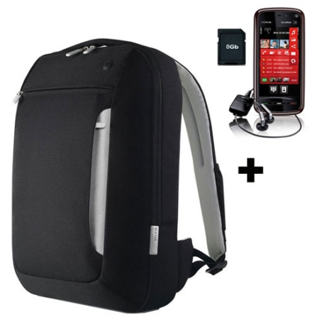 Celular Tim 5800 GPS / MP3 Nokia + Mochila Belkin