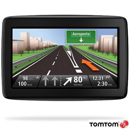 Navegador GPS Tom Tom Via 1500 com Tela de 5