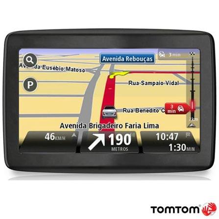 Navegador GPS Tom Tom Via 1430 com Tela de 4.3