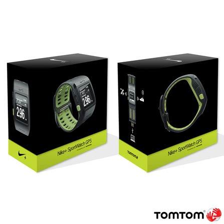 Relógio Esportivo Nike+ SportWatch GPS - TomTom