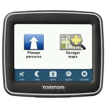 Navegador GPS Tela Touch 3,5