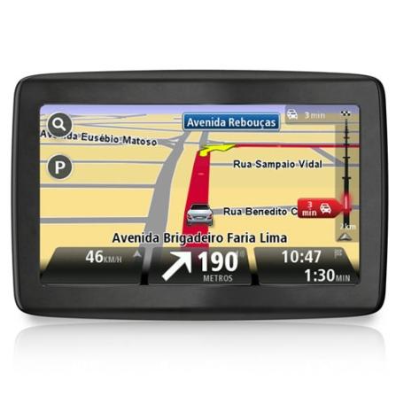 Navegador GPS TomTom Via 1400 com Tela de 4,3