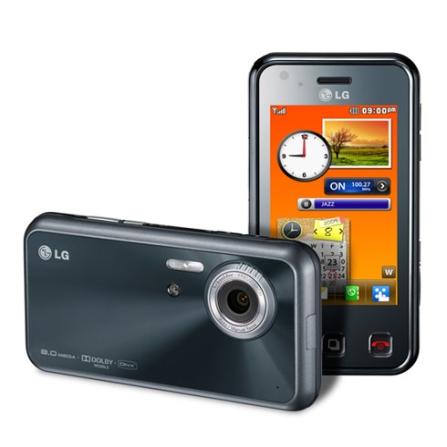 (TPCJ11RLGKC910) Celular Vivo GSM KC910 Renoir Preto com Display Touchscreen de 3