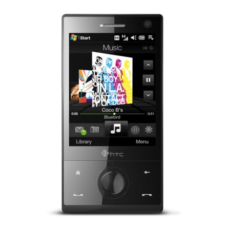 Celular Smartphone GSM Touch Diamond Preto com Câmera 3.2 MP / MP3 Player / Rádio FM / Bluetooth / Wi-Fi / GPS Integrado