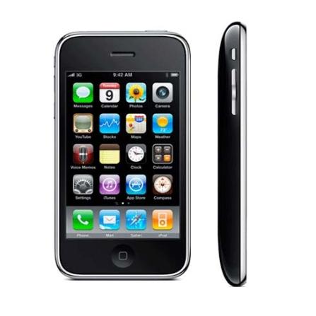 (ver TPCJ11RIPHO16P) iPhone 3Gs Preto com Memória de 16GB / Função Smartphone e GPS Integrado / Câmera 3.0MP / Grava Víd