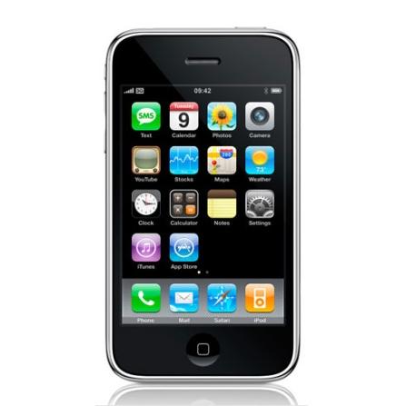 iPhone 3G Branco com Função Smartphone e GPS Integrado