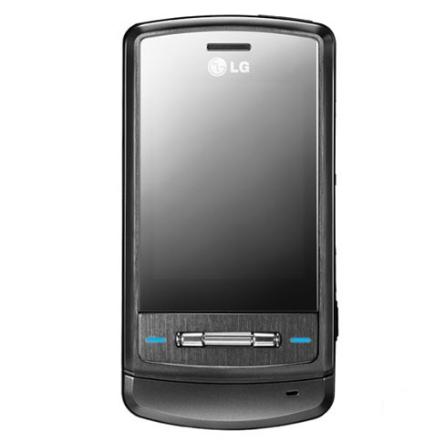 Celular GSM ME970T Titanium com Câmera de 2.0 / Tocador de MP3 / Cartão de Memoria de 512 MB - LG + Chip Vivo Pré-Pago (
