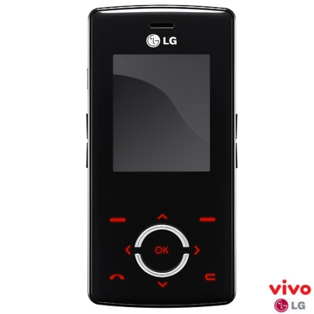 (ts loja - 19/06) Celular VIVO GSM Pré (DDD 11) MG280 Chocolight LG