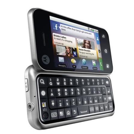 Smartphone Vivo 3G BackFlip /Android/ 8GB Motorola