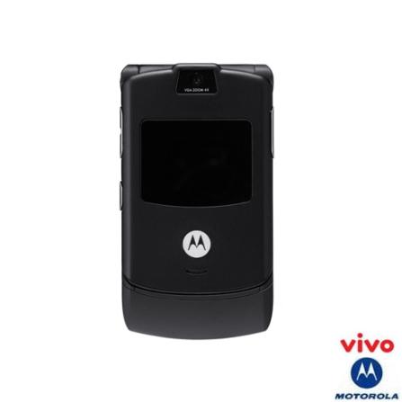 Celular VIVO GSM Pré (DDD 11) V3 Black Motorola