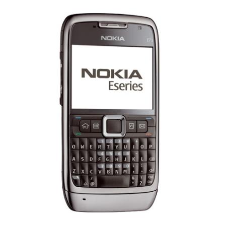 Celular Smartphone GSM E71 com Câmera de 3.2MP / MP3 Player / Bluetooth / GPS Integrado / WI-FI / Visualizador de Arquiv