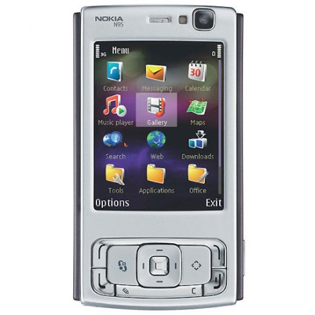 Celular N95 Câmera 5.0MP/BluetoothNokia+chip Vivo