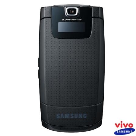 Celular VIVO GSM Pré (DDD 11) D836 Ultra9 com Câmera de 2.0MP / MP3 Player / UltraFino / Com Cartão MicroSD de 256MB e C