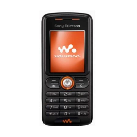 Celular GSM W200 Preto com Câmera VGA / Rádio FM / MP3 Player / Cartão de 256MB / Conteúdo com Músicas do Jota Quest - S