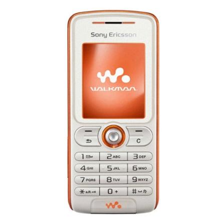 Celular GSM W200 Branco com Câmera VGA / Rádio FM / MP3 Player / Cartão de 256MB - Sony Ericsson + Chip Pré Vivo (DDD 11)