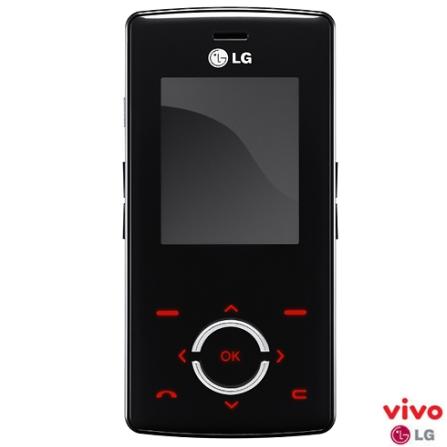 (ts loja - 19/06) Celular VIVO GSM Pré (DDD 19) MG280 Chocolight com Cãmera VGA / Bluetooth - LG