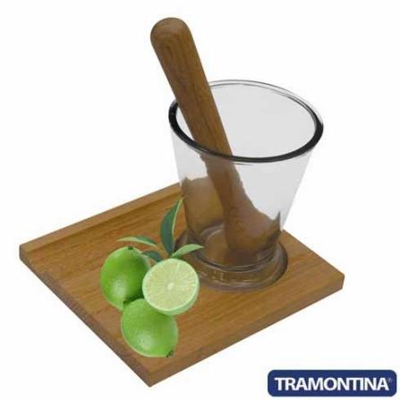 Kit Caipirinha Retangular sem Faca - Tramontina 10