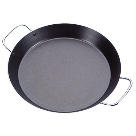 Paellera  26cm em Alumínio / Antiaderente Starflon / Preta - Tramontina - 20125026