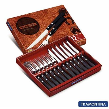 Conjunto de Talheres em Inox 12 Peças - Tramontina 23599060