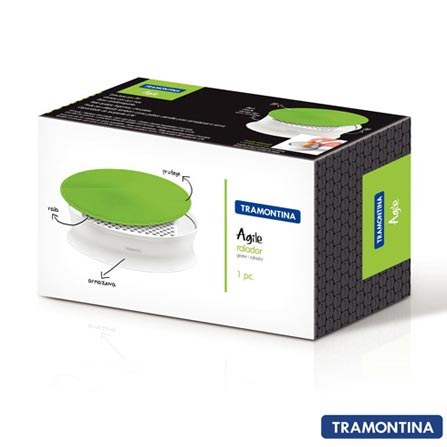 Ralador de Alimentos Agile Tramontina 25536020 Verde