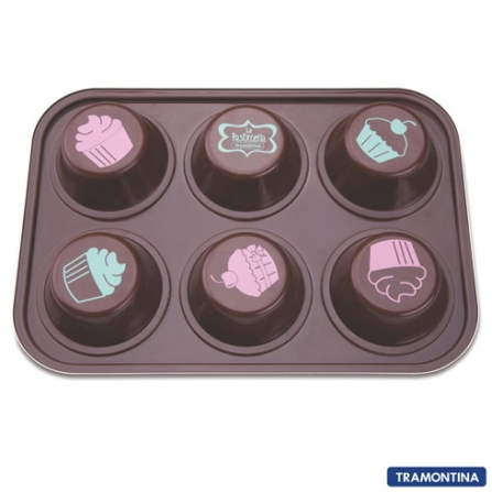 Forma de Cupcakes La Pasticceria - Tramontina 27899031