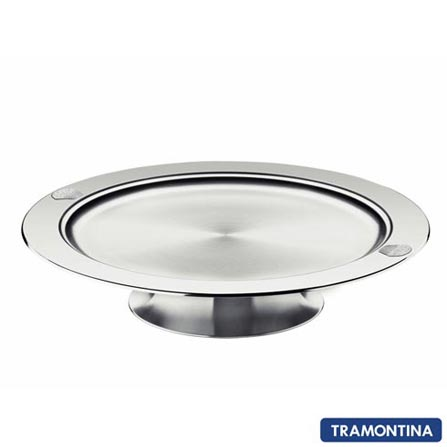Suporte para Doces e Salgados em Aço Inox La Pasticceria Tramontina - 61697010