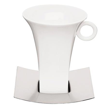 Jogo para Chá com 12 Peças em Porcelana e Aço Inox - Germany Tramontina - 64380_330