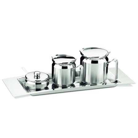 Jogo em Aço Inox para Chá e Café com 5 Peças - Tramontina - 64470_890