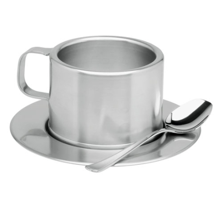 Jogo para Cafezinho com 18 Peças em Aço Inox - Lady Tramontina - 64470_930