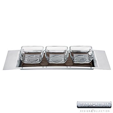 Jogo em Aço Inox para Molhos e Pastas com 5 Peças - Tramontina Design Collection - 64500_060