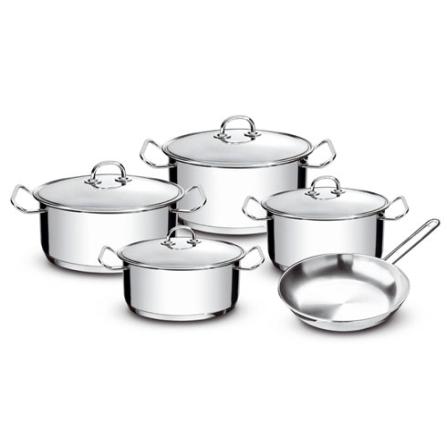 Jogo de Panelas em Inox com 5 Peças - Professional Gourmet Tramontina - 65620_000