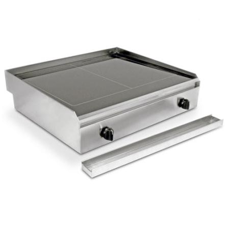 Vitro Grill com Superfície Vitrocerâmica / Assa, Tosta e Cozinha à Vapor / 5 Estágios de Temperatura / Inox - Profession, 110V