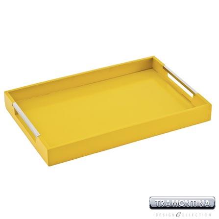 Bandeja Retangular Amarela para Servir - Tramontina Design Collection 10364366