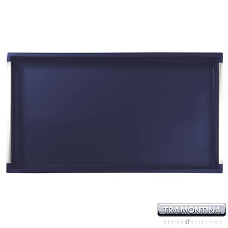 Bandeja Retangular 500x340mm Azul - Tramontina Design Collection - 10364608