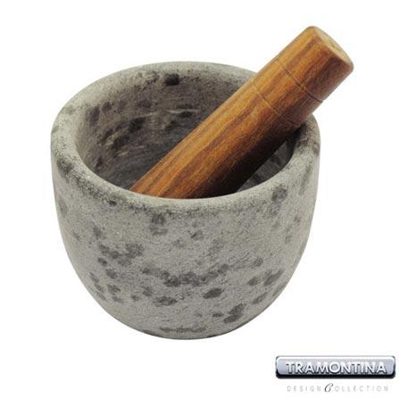 Pilão + Mortar em Pedra Sabão - Tramontina Design Collection - 13012450