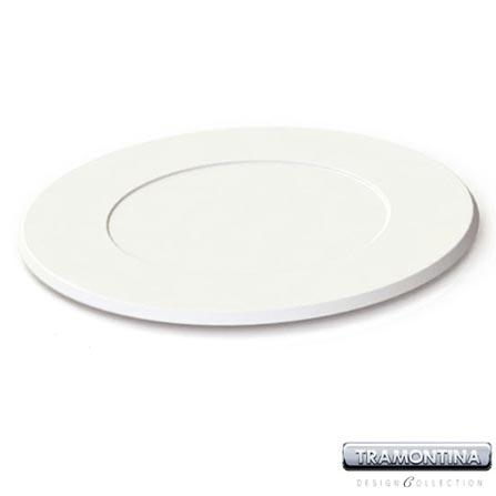 Sousplat Redondo 350mm Branco - Tramontina Design Collection - 13014605